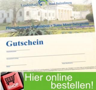 Lindenbad Gutschein im Onlineshop