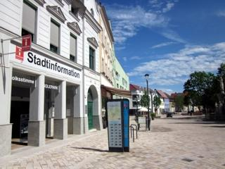 Stadtinformation am Markt