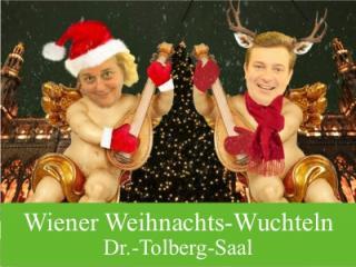 Katharina Kutil und Alexander Klinger als Wiener Weihnachts-Wuchteln. Die Engerln sind zurück.