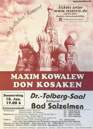 Maxim Kowalew Don Kosaken
