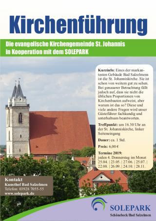Kirchenbesichtigung St. Johannis
