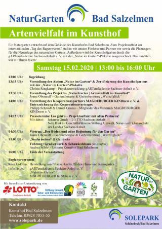 NaturGarten Bad Salzelmen | Artenvielfalt im Kunsthof