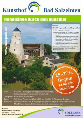 Kunsthof: erste Rundgänge ab 25.06.21