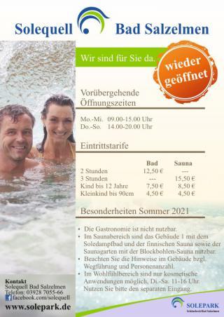 Unser Angebot für einen entspannten Sommer