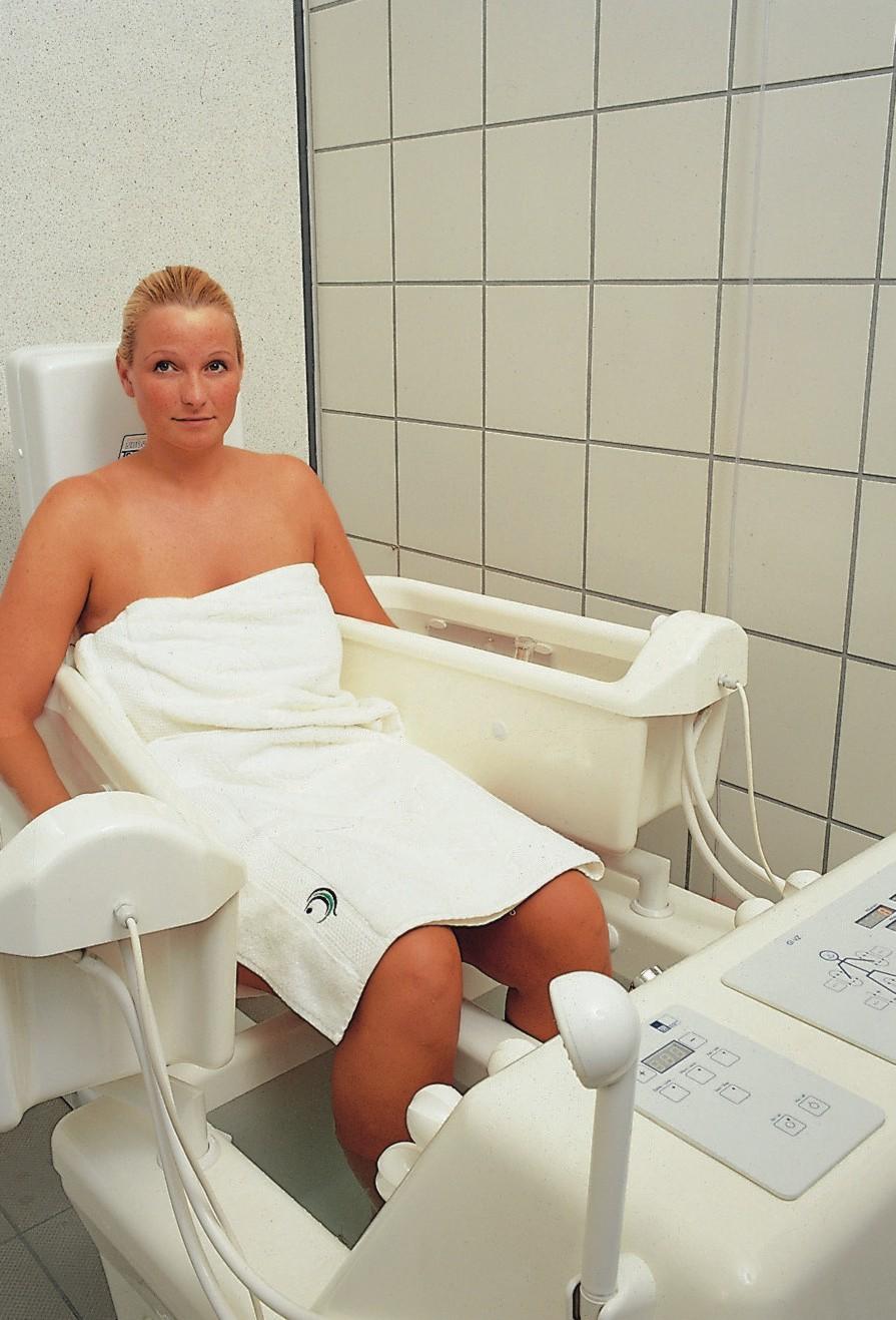 Elektrotherapie im Lindenbad © Matthias Röhricht